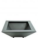 wholesale Decoration: Metal shell square, length 55cm, width 55cm